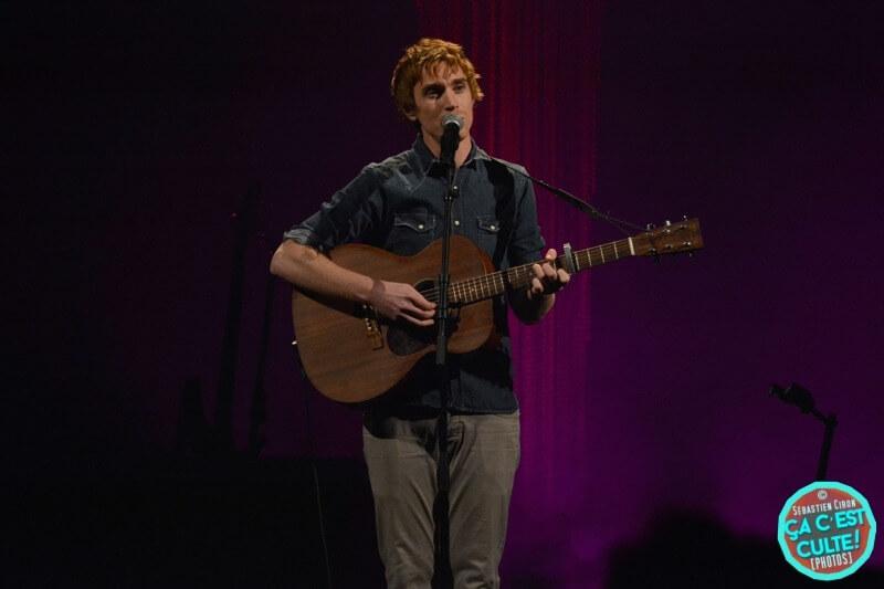 Ben Mazué en concert en novembre 2018 au Théâtre Sébastopol de Lille