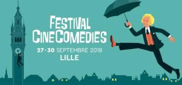 Première édition du Festival CinéComédies à Lille cacestculte