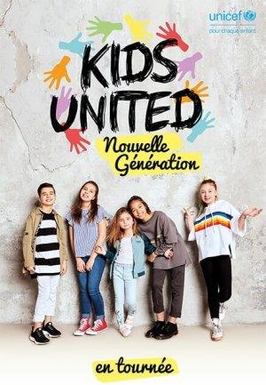 Kids United Nouvelle Génération à Lille et à Douai en 2019