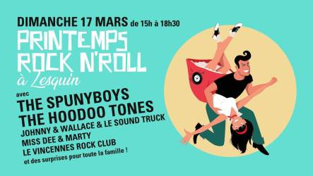 Printemps Rock'n Roll à Lesquin, le 17 mars 2019