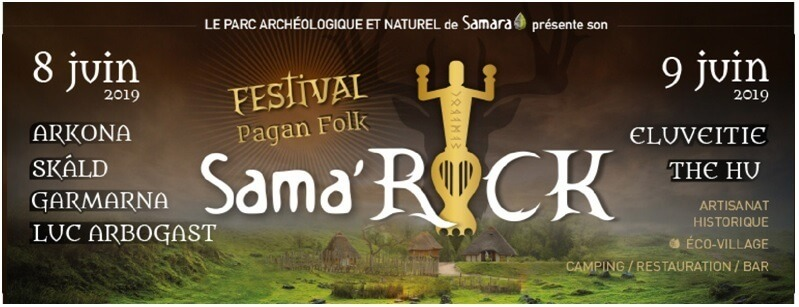 Le parc archéologique de Samara présente : le Sama'rock festival pagan folk
