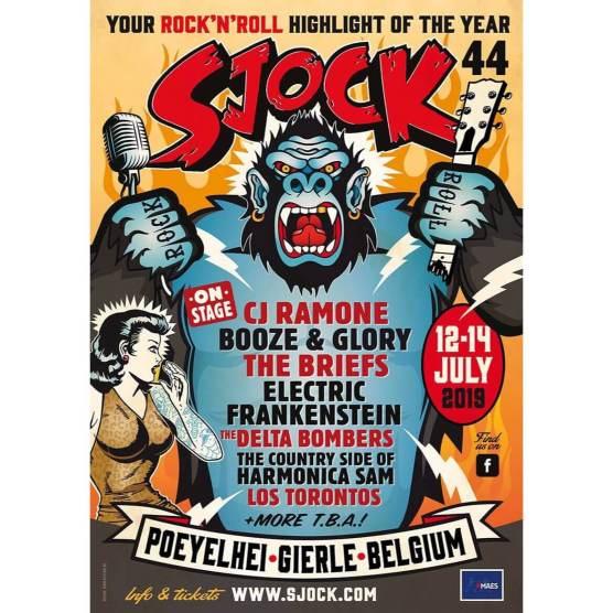 Sjock Festival 44 les 12,13 et 14 Juillet à Gierle (Belgique)