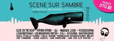 Le festival des Barges : Scène Sur Sambre 2019