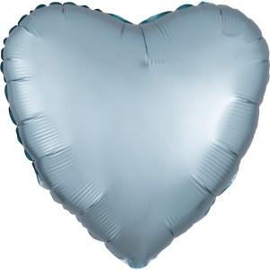 Plain Foil Heart Balloons