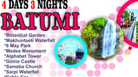 4 days 3 nights in Batumi, Tour and Hotel
