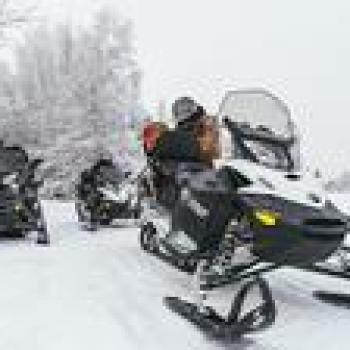 Jackson Wyoming SNOWMOBILE to Old Faithful in Yellowstone National Park 35441P15