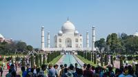Private Full-Day Tour of Agra: Taj Mahal at Sunrise, Fatehpur Sikri, Agra Fort, and Tomb of Itmad-ud-Daulah