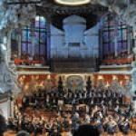 Barcelona Catalonia and Barcelona Palau de la Música Concerts April-July 2019 (Modernist Concert Hall UNESCO World Heritage) 6813P50