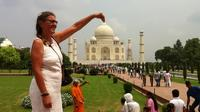 2-Day Private Sunrise Taj Mahal Agra Tour from Bangalore with Flight