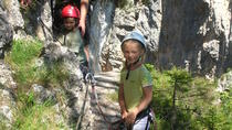 Fanes waterfalls: E-bike Excursion to the Trail of Waterfalls and Canyons, Cortina d'Ampezzo,...