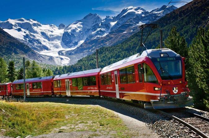 Risultati immagini per Tour delle Alpi Svizzere, con treno