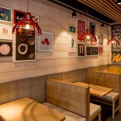 Kitchen Wall Art Decor Do It Yourself Outdoor 不止中国肯德基换装,2015英国肯德基也换室内装修风格_5ikfc资讯信息频道
