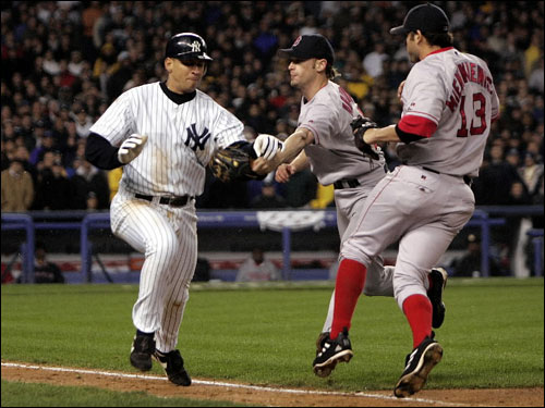 Image result for a rod hits ball out of glove