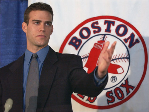 A look back at Theo Epstein's first season with the Red Sox -- 2003