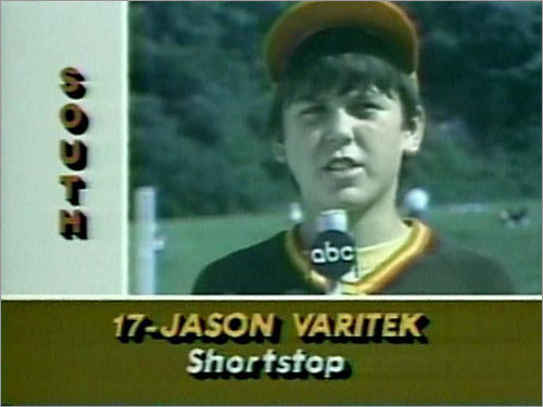 1984 He was a multi-position star for Alamonte Springs, Fla. in the 1984 Little League World Series. His team lost to Seoul, South Korea in the final. Varitek went 0 for 7 with two walks and a run scored in three LLWS games.
