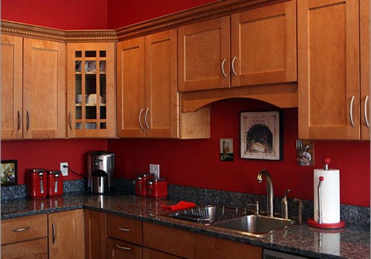 Red Kitchen Paint Colors