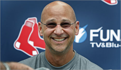 Francona looked loose on Thursday.