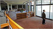 Cushing library goes bookless