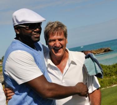 David Ortiz and Bobby Orr