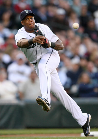 Third base 2009 defensive stats: 110 starts, .959 FPCT, 14 errors. Beltre, a tremendous, spectacular defensive player, takes over for the popular Mike Lowell, who lost most of his range last season as he recovered from hip surgery. Beltre, 31, hit 25 or more home runs from 2006-08 with the Mariners, but fell to eight last year as he was hampered by injuries. The Sox believe his power will be enhanced by playing half of his games at Fenway rather than cavernous Safeco.