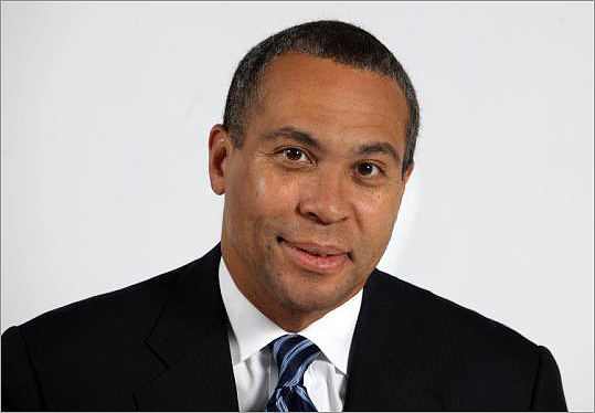 'People who write this guy off do so at their own peril. . . . He has started to do what he did before.' -- Kevin Sowyrda, Republican media consultant, on Governor Deval Patrick.
