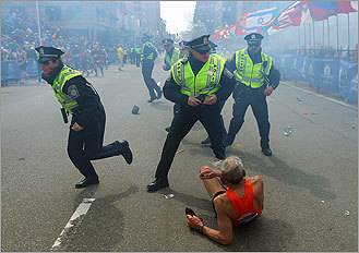 Terror at the Boston Marathon