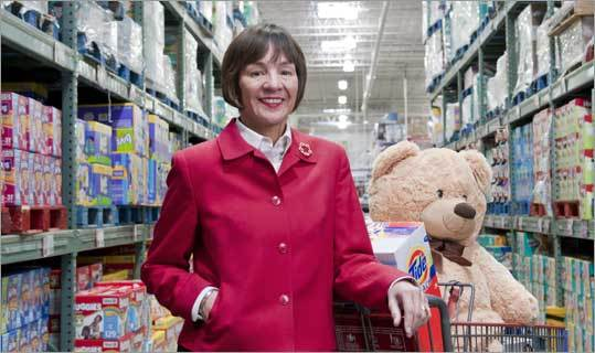 Laura Sen CEO of BJs Wholesale Club  The Boston Globe