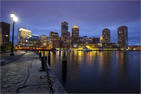 The Boston waterfront has arrived  The Boston Globe