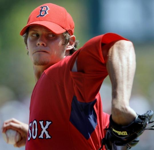 Clay Buchholz has been dominating in the minor leagues.