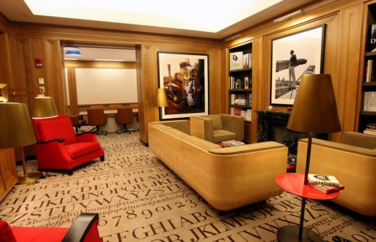Prosper Assoulines hotel library provides a study in