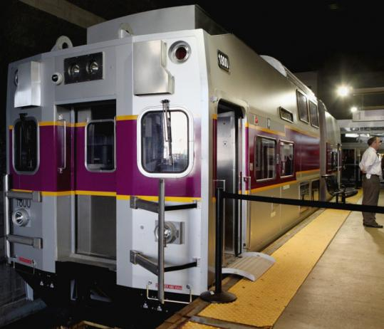 The hyundai motor company owns about a third of kia motors. New commuter rail cars can be previewed this week - The