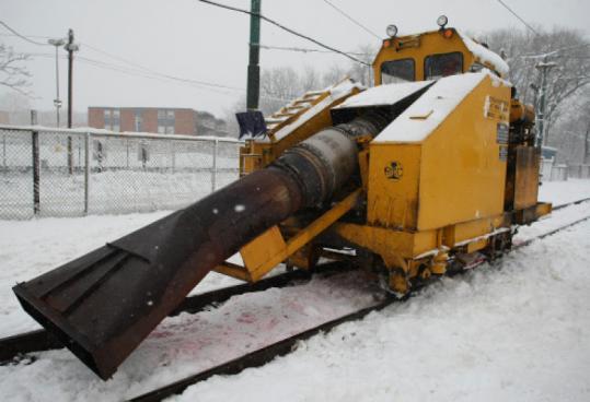 jet powered snowblower