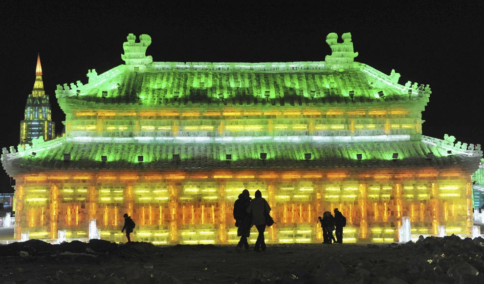 Ice and Snow Festival in Harbin, Heilongjiang Province, China via Big Picture