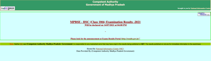 MP Board 10th Result 2021 Live Updates: Result Announced, Download Link Now Available