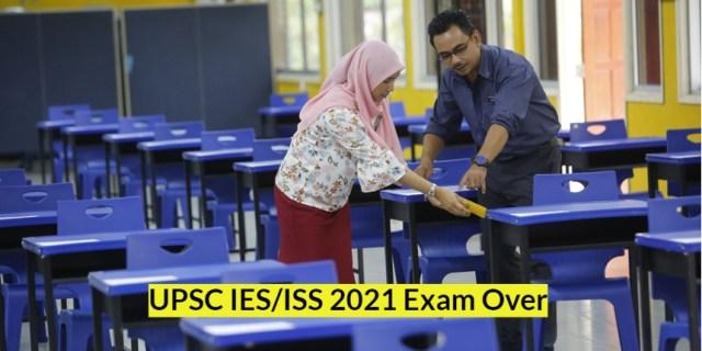 UPSC IES ISS 2021 परीक्षा संपन्न;  COVID19 प्रोटोकॉल का सख्ती से पालन किया गया
