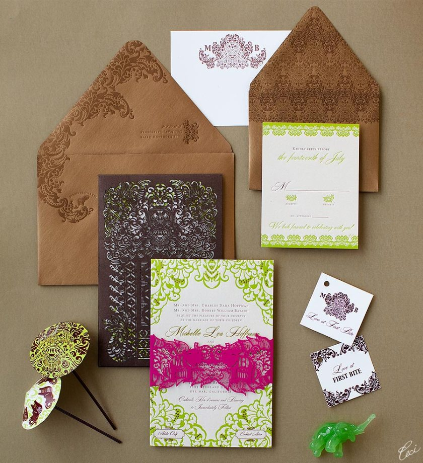 Luxury Wedding Invitations By Ceci New York Our Muse Be Inspired Mice
