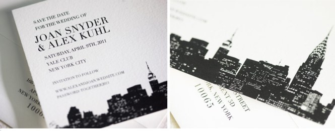 Wedding Invitations Nyc Cool As Rustic And