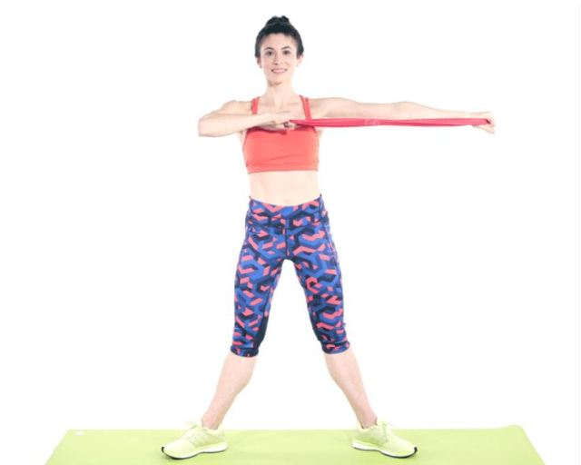 Exercise to stretch the arms (Andrew Lyman-Clarke)