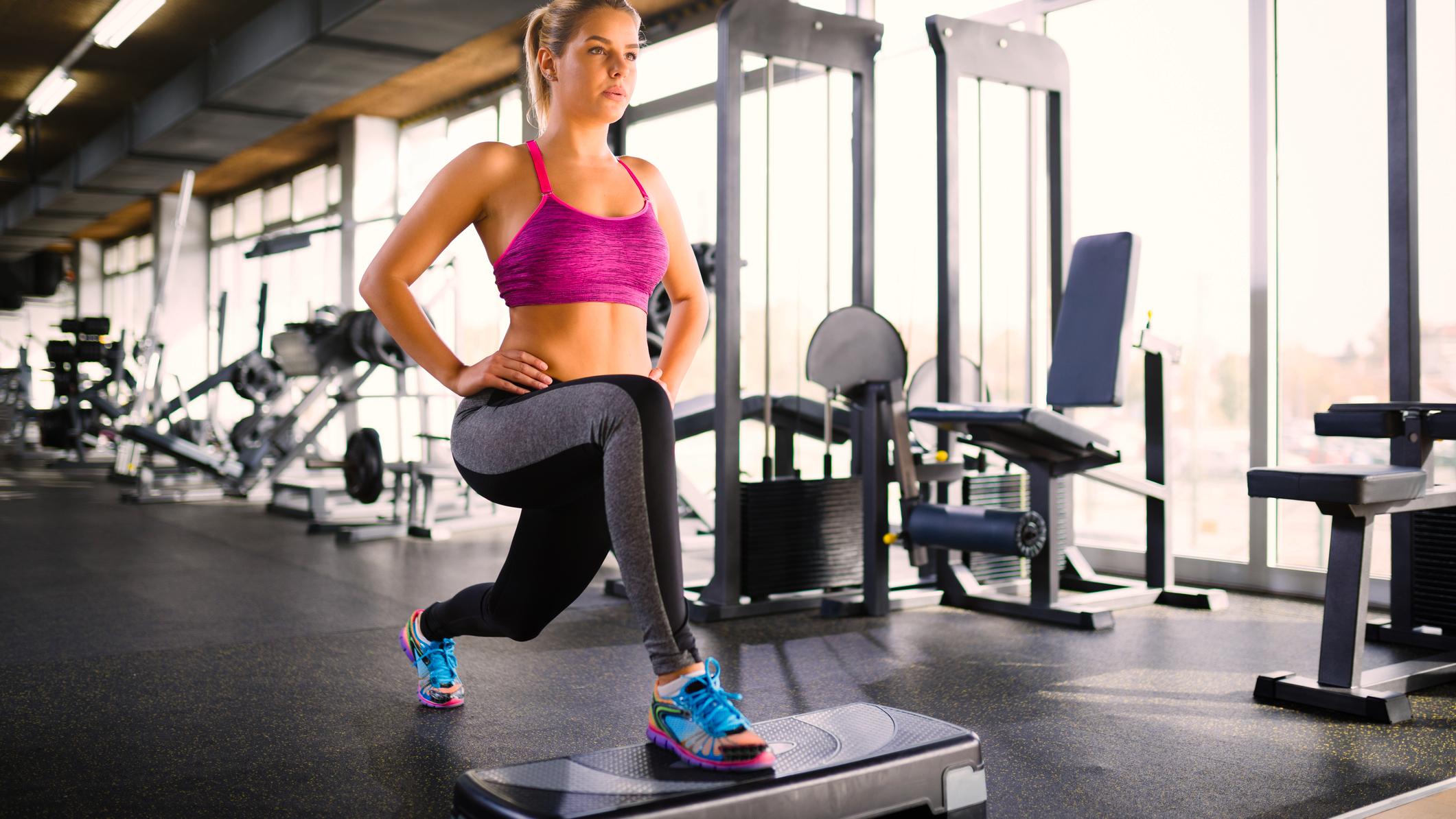 Quels Exercices Pour Se Muscler Avec Un Step Cosmopolitanfr