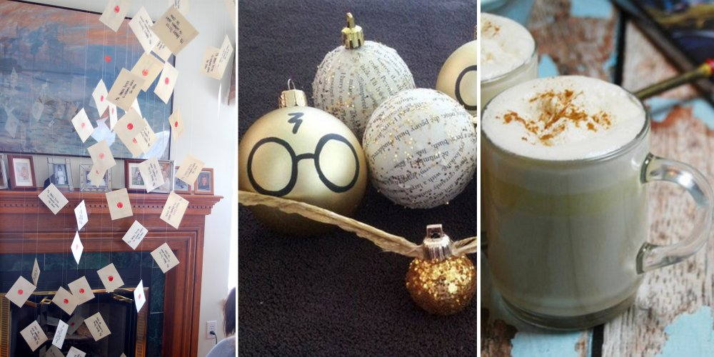 Nol Spcial Harry Potter Les 15 Astuces Dcoration
