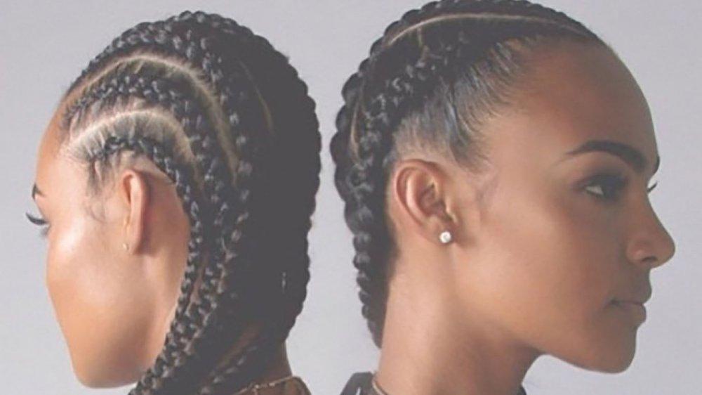 les cornrow braids la tendance des