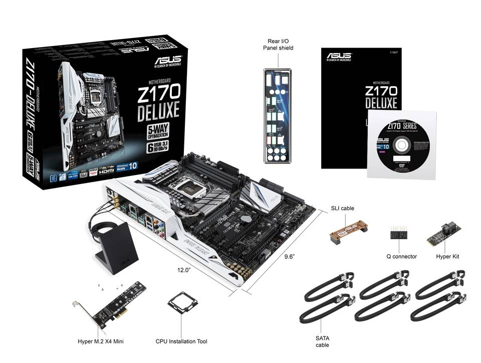 The Differences between All Asus Mainstream Z170