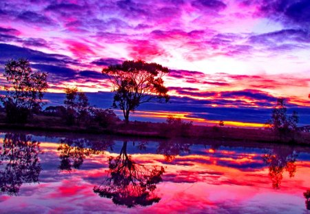 Fall In Love Wallpaper Free Download Colorful Sky Sky Amp Nature Background Wallpapers On