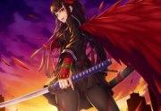battle angel - & anime background