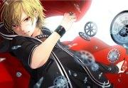 fuwa mahiro - & anime background