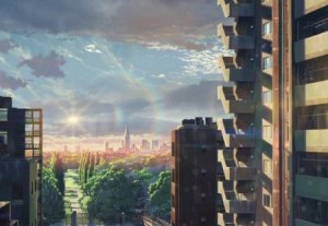 scenery anime morning wallpapers desktopnexus