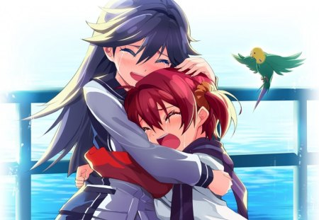 Cute Hug Wallpapers Free Download Crying Other Amp Anime Background Wallpapers On Desktop