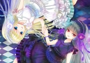 good evil - & anime background