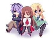 chibi - & anime background