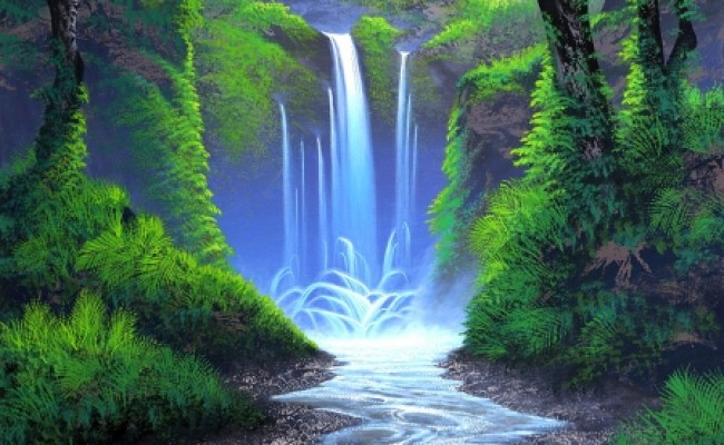 Whisper Of The Forest Waterfall Forests Nature